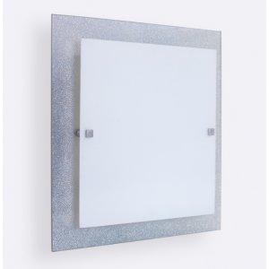Светильник 31140 Мираж НББ 2х60 Вт Е27 300мм серебро