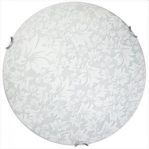 Светильник 24280 Юнона НББ 2х60 Вт Е27 d=300 белый