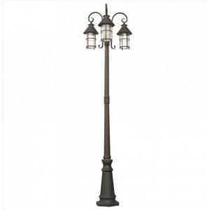 Светильник парковый QMT 31682E Caior I старая медь