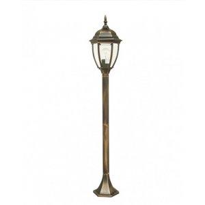 Светильник парковый QMT 11278SJ Dallas II старое золото