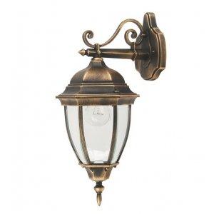 Светильник парковый QMT 1277S Dallas II старое золото