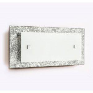 Светильник 14150 Мрия НББ 1х60 Вт Е27 300*140 мм серебро