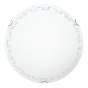 Светильник 25070 Греция НББ 3х60 Вт Е27 d=400 белый