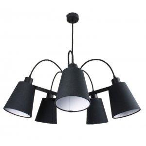 ImperiumLight 66570.05.05 Helsinki, подвес черный, Е 27, 5 ламп