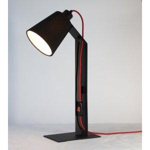 ImperiumLight 66121.05.16 Helsinki настольная лампа Е27, черный/красный, 60 Вт