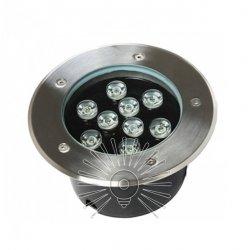 Светильник led LM989 грунтовый 9led 9w 450lm 6500K