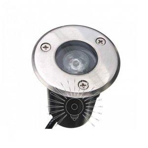 Светильник led LM14 тротуарный 1led 1w 50lm 85-265v 6500k ip65