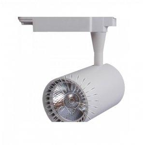 Трековый светильник led LM516 30w 2400lm 6000k белый