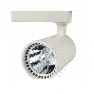 Трековый светильник led LM506-30 30w 2400lm 6000k белый крем