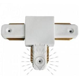 Соединение LM514 T 2wAYS для трековых систем белое