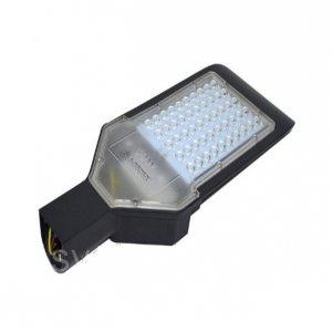 Светильник консольный CAB53-30 на столб SMD 30w 3000lm 6500k 100-265v защита от грозы 4Kv чёрный