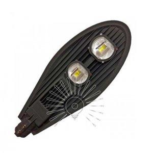 Светильник консольный CAB49-100 на столб Люкс 2led 100w 13000lm 6500k чёрный