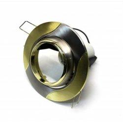 Врезной светильник AL8174 титан - золото R50  /020