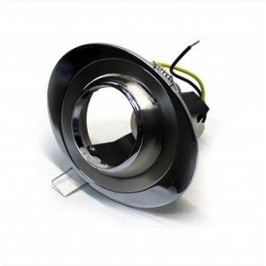 Врезной светильник AL8182 титан - хром R50 / овал  108