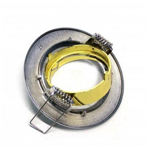 Врезной светильник DL2005 хром-золото