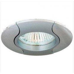 Врезной светильник DL80 титан - хром mr16 /020