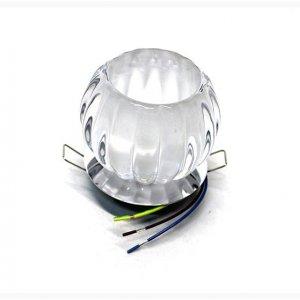 Точечный светильник ST120 прозрачный-хром  G9