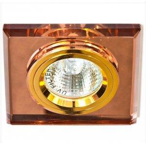 Точечный светильник ST126 коричневый-золото G5.3