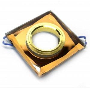 Точечный светильник ST128 коричневый-золото G5.3