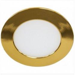 Светодиодный светильник LM451 6w 480lm 4000k круг золото