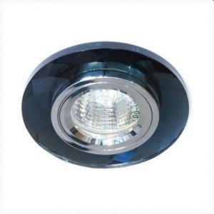 Точечный светильник ST129 чёрный-хром G5.3