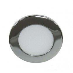 Светодиодный светильник LM451 6w 480lm 4000k круг серебро