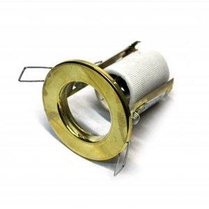 Врезной светильник AL8101 золото R-39S