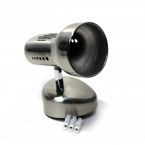 Светильник RAD поворотный ST190-1 60w R50 E14 металл c выкл. / титан