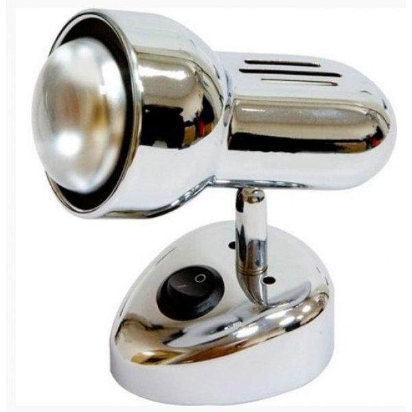 Светильник RAD поворотный ST190-1 60w R50 E14 металл c выкл. / хром