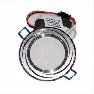 Светодиодный светильник LM487 7w 560lm 4500k хром