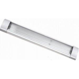 Люминисцентный светильник LM918 2x18 T8 две лампы мат. плафон (без ламп)