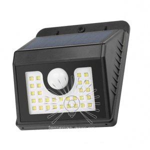 Подсветка для стены LM24 led 8w 800lm ip44 с Датчик движения и солнечной батареей + акку