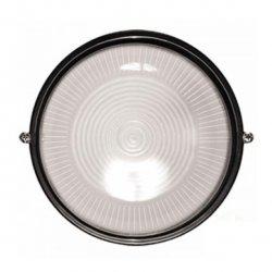 Светодионый светильник ЖКХ LM974 led 12w круг чёрный 170-265v 960lm ip65