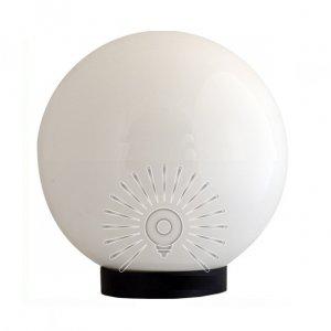 Шар светильник PL2102 диаметр 150 белый макс. 25w + база с E27