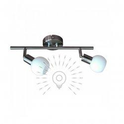 Светильник направленного света ST138-2 двойной G9 / 40w матовый хром