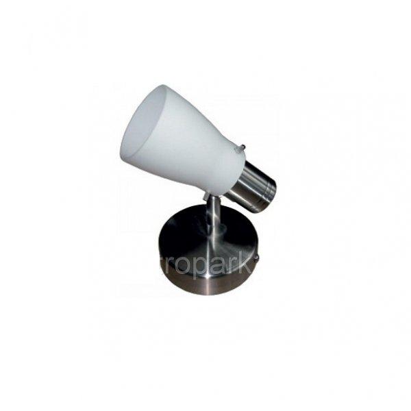 Светильник направленного света ST143-1 одинарный E14 / 9w  матовый хром