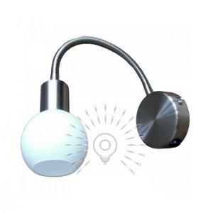Светильник направленного света ST180 одинарный G9 / 40w матовый хром, бра на стену