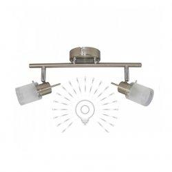 Светильник направленного света ST181-2 двойной G9 / 40w матовый хром