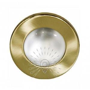 Врезной светильник AL8102 античное золото R-50S