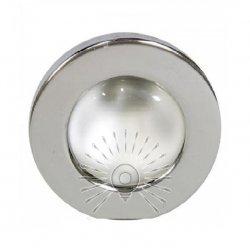 Врезной светильник AL8102 хром R-50S