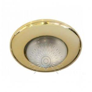 Врезной светильник AL8113 золото R39 сфера