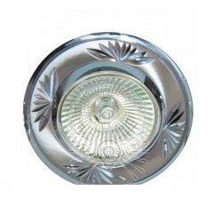 Врезной светильник DL246 титан-хром MR16