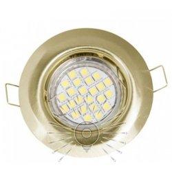 Врезной светильник DL3104 MR11 античное золото