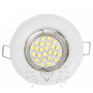 Врезной светильник DL3104 MR11 белый