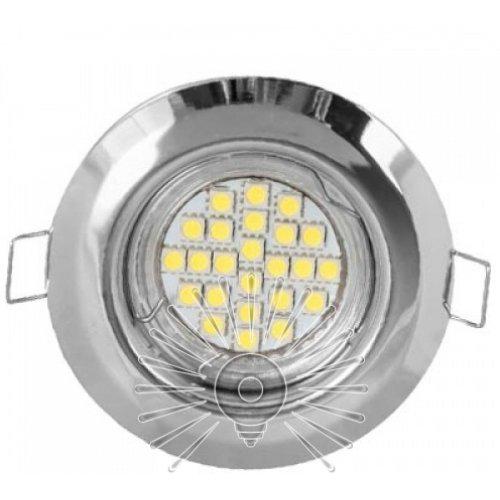 Врезной светильник DL3104 MR11 хром