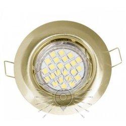 Врезной светильник DL3204 MR16 античное золото