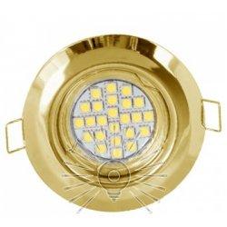 Врезной светильник DL3204 MR16 золото