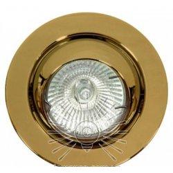 Врезной светильник DL3206 MR16 античное золото
