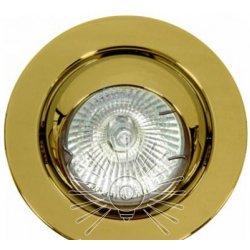 Врезной светильник DL3206 MR16 золото