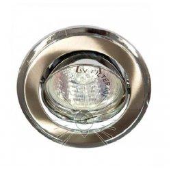 Врезной светильник DL81 титан - хром mr16 /301